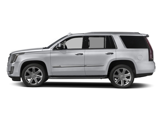 Radiant Silver Metallic 2017 Cadillac Escalade Pictures Escalade Utility 4D Luxury 2WD V8 photos side view