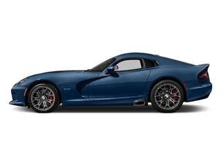 Competition Blue 2017 Dodge Viper Pictures Viper 2 Door Coupe photos side view