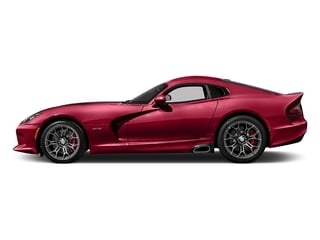 Adrenaline Red 2017 Dodge Viper Pictures Viper 2 Door Coupe photos side view