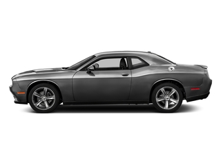 Destroyer Gray Clearcoat 2017 Dodge Challenger Pictures Challenger SXT Coupe photos side view