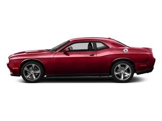Redline Red Tricoat Pearl 2017 Dodge Challenger Pictures Challenger SXT Coupe photos side view