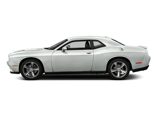 White Knuckle Clearcoat 2017 Dodge Challenger Pictures Challenger SXT Coupe photos side view