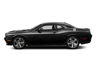 Pitch Black Clearcoat 2017 Dodge Challenger Pictures Challenger SXT Coupe photos side view