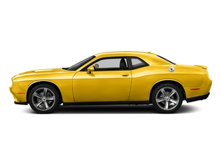 Yellow Jacket Clearcoat 2017 Dodge Challenger Pictures Challenger SXT Coupe photos side view