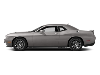 Destroyer Gray Clearcoat 2017 Dodge Challenger Pictures Challenger Coupe 2D R/T Plus V8 photos side view