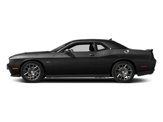 Pitch Black Clearcoat 2017 Dodge Challenger Pictures Challenger Coupe 2D R/T Plus V8 photos side view