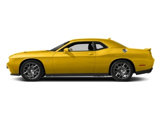 Yellow Jacket Clearcoat 2017 Dodge Challenger Pictures Challenger Coupe 2D R/T Plus V8 photos side view