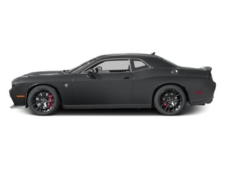 Granite Pearlcoat 2017 Dodge Challenger Pictures Challenger SRT Hellcat Coupe photos side view