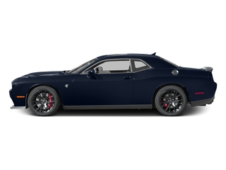 Contusion Blue Pearlcoat 2017 Dodge Challenger Pictures Challenger SRT Hellcat Coupe photos side view