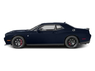 Contusion Blue Pearlcoat 2017 Dodge Challenger Pictures Challenger Coupe 2D SRT Hellcat V8 Supercharged photos side view