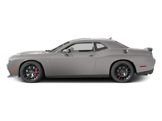 Destroyer Gray Clearcoat 2017 Dodge Challenger Pictures Challenger SRT Hellcat Coupe photos side view