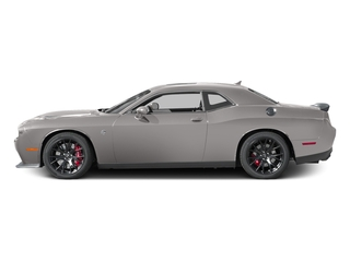 Destroyer Gray Clearcoat 2017 Dodge Challenger Pictures Challenger Coupe 2D SRT Hellcat V8 Supercharged photos side view
