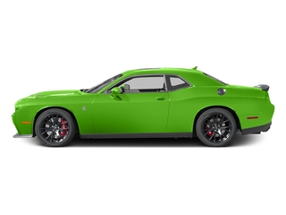 Green Go Clearcoat 2017 Dodge Challenger Pictures Challenger Coupe 2D SRT Hellcat V8 Supercharged photos side view