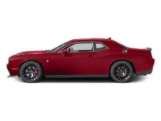 Redline Red Tricoat Pearl 2017 Dodge Challenger Pictures Challenger SRT Hellcat Coupe photos side view