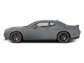 Billet Clearcoat 2017 Dodge Challenger Pictures Challenger SRT Hellcat Coupe photos side view