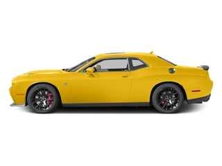 Yellow Jacket Clearcoat 2017 Dodge Challenger Pictures Challenger Coupe 2D SRT Hellcat V8 Supercharged photos side view