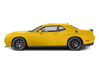 Yellow Jacket Clearcoat 2017 Dodge Challenger Pictures Challenger SRT Hellcat Coupe photos side view