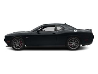 Maximum Steel Metallic Clearcoat 2017 Dodge Challenger Pictures Challenger Coupe 2D SRT 392 V8 photos side view