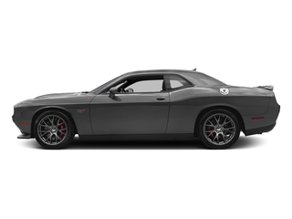 Destroyer Gray Clearcoat 2017 Dodge Challenger Pictures Challenger Coupe 2D SRT 392 V8 photos side view