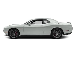 White Knuckle Clearcoat 2017 Dodge Challenger Pictures Challenger Coupe 2D SRT 392 V8 photos side view