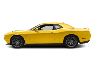 Yellow Jacket Clearcoat 2017 Dodge Challenger Pictures Challenger Coupe 2D SRT 392 V8 photos side view