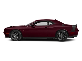 Octane Red Pearlcoat 2017 Dodge Challenger Pictures Challenger 392 Hemi Scat Pack Shaker Coupe photos side view