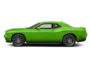 Green Go Clearcoat 2017 Dodge Challenger Pictures Challenger Coupe 2D GT AWD V6 photos side view