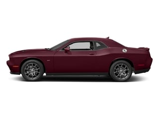 Octane Red Pearlcoat 2017 Dodge Challenger Pictures Challenger Coupe 2D GT AWD V6 photos side view