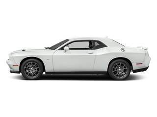 White Knuckle Clearcoat 2017 Dodge Challenger Pictures Challenger Coupe 2D GT AWD V6 photos side view