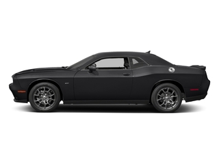 Pitch Black Clearcoat 2017 Dodge Challenger Pictures Challenger Coupe 2D GT AWD V6 photos side view