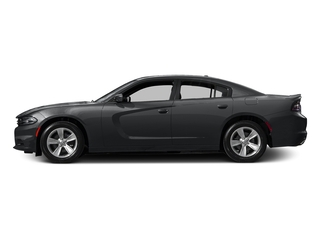 Granite Pearlcoat 2017 Dodge Charger Pictures Charger SE RWD photos side view