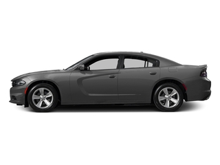 Destroyer Gray Clearcoat 2017 Dodge Charger Pictures Charger Sedan 4D SE AWD V6 photos side view