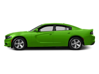 Green Go Clearcoat 2017 Dodge Charger Pictures Charger Sedan 4D SE V6 photos side view