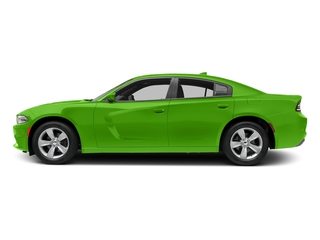 Green Go Clearcoat 2017 Dodge Charger Pictures Charger Sedan 4D SXT AWD V6 photos side view