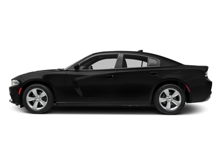 Pitch Black Clearcoat 2017 Dodge Charger Pictures Charger Sedan 4D SXT AWD V6 photos side view