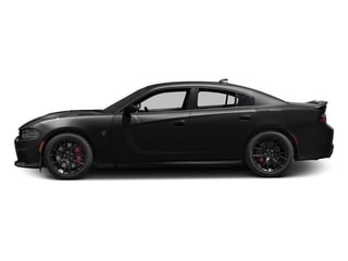 Pitch Black Clearcoat 2017 Dodge Charger Pictures Charger Sedan 4D SRT Hellcat V8 Supercharged photos side view