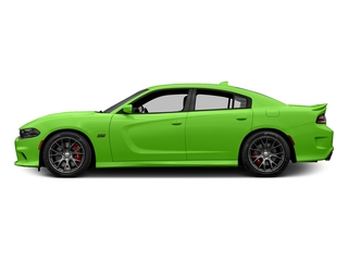 Green Go Clearcoat 2017 Dodge Charger Pictures Charger Sedan 4D SRT 392 V8 photos side view
