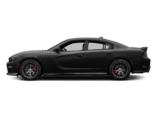 Pitch Black Clearcoat 2017 Dodge Charger Pictures Charger Sedan 4D SRT 392 V8 photos side view