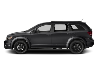 Pitch Black Clearcoat 2017 Dodge Journey Pictures Journey GT FWD photos side view