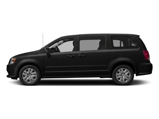 Black Onyx Crystal Pearlcoat 2017 Dodge Grand Caravan Pictures Grand Caravan Grand Caravan SE V6 photos side view