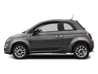 Granito Lucente (Granite Crystal) 2017 FIAT 500 Pictures 500 Lounge Hatch photos side view
