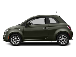 Verde Oliva (Olive Green) 2017 FIAT 500 Pictures 500 Lounge Hatch photos side view