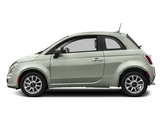 Verde Chiaro (Light Green) 2017 FIAT 500 Pictures 500 Lounge Hatch photos side view