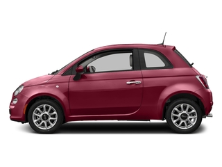 Rosso (Red) 2017 FIAT 500 Pictures 500 Lounge Hatch photos side view