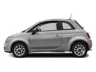 Billet Argento (Silver) 2017 FIAT 500 Pictures 500 Lounge Hatch photos side view