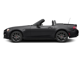 Nero Cinema Jet Black 2017 FIAT 124 Spider Pictures 124 Spider Conv 2D Elaborazione Abarth I4 Turbo photos side view