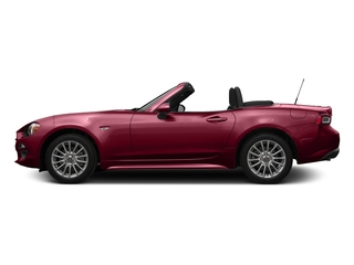 Rosso Red 2017 FIAT 124 Spider Pictures 124 Spider Convertible 2D Classica I4 Turbo photos side view