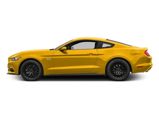 Triple Yellow Tri-Coat 2017 Ford Mustang Pictures Mustang Coupe 2D GT V8 photos side view