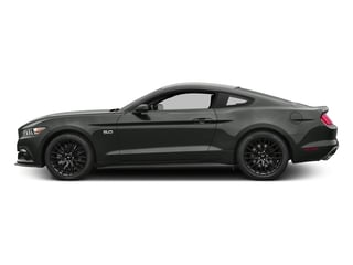 Magnetic Metallic 2017 Ford Mustang Pictures Mustang Coupe 2D GT V8 photos side view