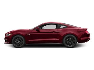 Ruby Red Metallic Tinted Clearcoat 2017 Ford Mustang Pictures Mustang Coupe 2D GT V8 photos side view